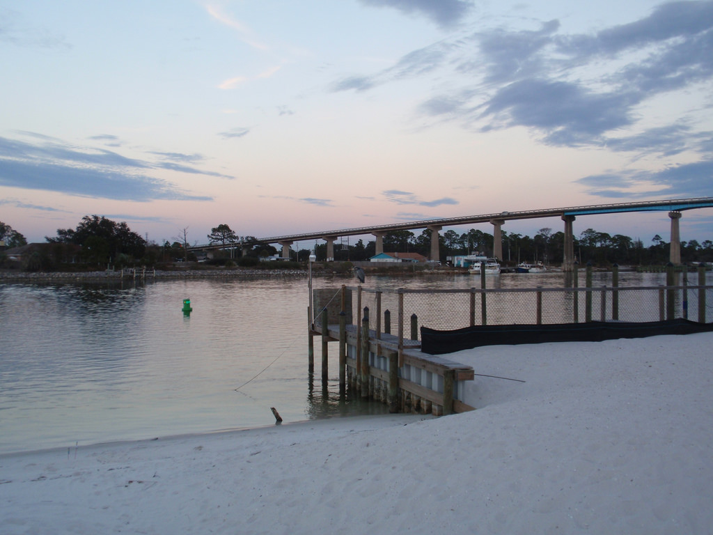 perdido key bridge photo